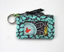*New with tags*Mickey's Perfect Petals Disney  Zip ID Case by Vera Bradley