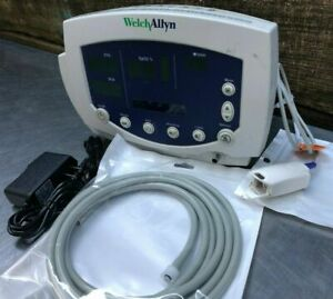 Welch Allyn 53NOO Patient Monitor; New Battery, Nellcor O2, NIBP
