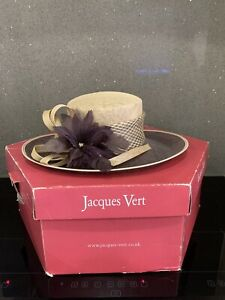 Jacques Vert Mother Of The Bride / Special Occasion Hat With Hat Box