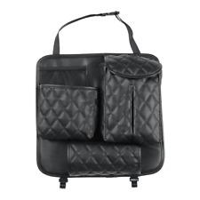 New Listingcar Seat Back Bag Organizer Storage Phone Tissue Holder Multi Pocket Pu Leather Fits Mitsubishi Diamante