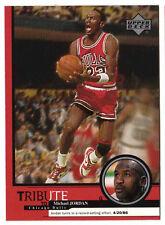 Michael Jordan 1999 Upper Deck Tribute Record Setting Effort Basketball Card