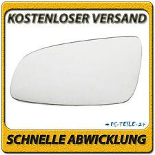 Außenspiegel Spiegelglas für OPEL ASTRA H 2004-2008 links Fahrerseite konvex