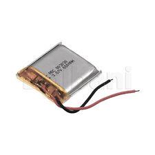 803030, Internal Lithium Polymer Battery 3.8V 650mAh 80x30x30mm