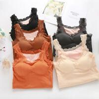 Women Ladies Thermal Vest Underwear Sleeveless Waistcoat Tank Top Winter Ceng
