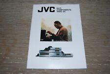 JVC 1990 - 91 Hi-Fi Stereo RX-1010VTN XL-Z1010TN XPA1010TN  Original Catalogue