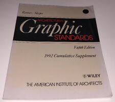 Architectural Graphic Standards Ramsey/Sleeper Eighth Edition (1992) Architects