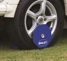 Bailey Caravan Excalibur Safety Wheel Lock Clamp Anti Theft Security Receiver