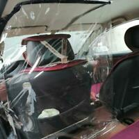 Auto Protection Partition Taxi Isolation Anti-Drip Transparent Film Interior