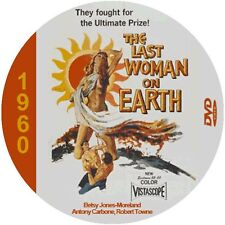 "The Last Woman On Earth (1960) Sci-Fi  and Horror NR CULT ""B"" Movie DVD"