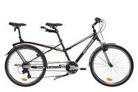 "BICI BICICLETTA TANDEM PER DUE SMART UNISEX 26"" 2018 DONNA UOMO city bike urban"