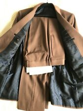 Gucci Suit Men's Brown 100% Wool