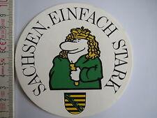 Aufkleber Sticker Sachsen - Einfach Stark (1426)