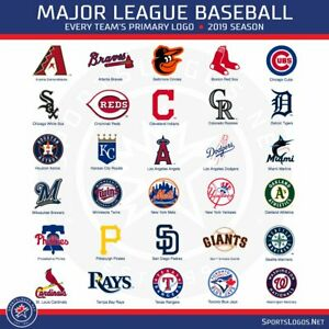 """2021 MLB Baseball Teams Schedule Magnets 5"""" X 3.5""""(Choose From List)"""