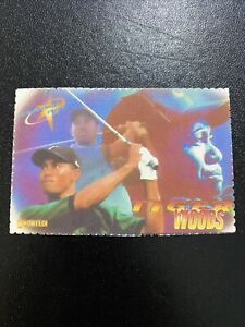 Tiger Woods 1997 Shooting Stars Rookie Card