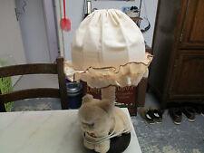 Lampe de chevet à motif chat, en peluche