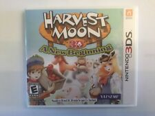 Replacement Case (NO GAME) Harvest Moon 3D: A New Beginning - Nintendo 3DS