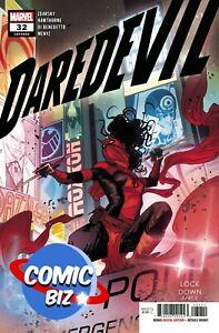 DAREDEVIL #32 (2021) 1ST PRINTING CHECCHETTO MAIN COVER MARVEL COMICS