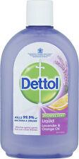 DETTOL Lavande & Orange HUILE désinfectant liquide 500ml