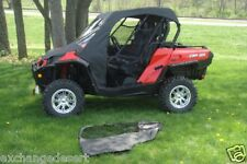 FULL CAB Enclosure + Vinyl Windshield ~ CAN-AM COMMANDER ~  New  UTV's  3 Colors
