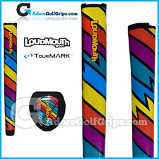 TourMARK Loudmouth Captain Thunderbolt Jumbo Putter Grip - Blue Yellow Purple