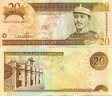REPUBLIQUE DOMINICAINE DOMINICAN DOMINICANA 20 PESOS 2003 NEUF UNC