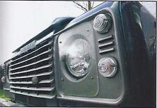 Headlamp Protectors for Land Rover Series 3, County 110 & Defender (BA053)