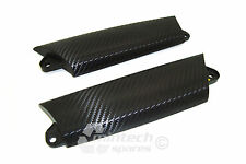 BMW Mini JCW Works Cooper S R55 R56 R57 inner door handle trims Carbon Fibre