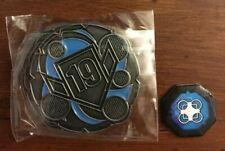 Keyforge Prime Championship Metal Keys (Smaller Size)