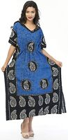 Long Kaftan dress Hippy Boho Plus Size Women Caftan Tunic Dress Night Gown Maxi,