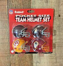 Riddell Pocket Size Team Helmet Set WASHINGTON REDSKINS ULTRA SUPER RARE