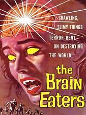 Movie film brain eaters sci fi horreur alien nelson usa art imprimé posterabb 6552B