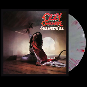 Ozzy Osbourne - Blizzard of Ozz - Silver Vinyl with Red Swirls - In Stock