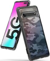 For Samsung Galaxy S10 5G | Ringke [FUSION] Clear Shockproof Slim Cover Case