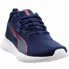 Puma Tishatsu Runner Knit Sneakers Casual    - Blue - Mens