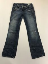 Diesel Women's Blue Ryoth Jeans Size 24x30 Made In Italy