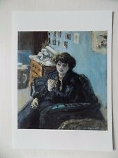 Pierre Bonnard Young Woman in an Interior 1906  6x4 Inch Postcard New