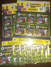 Premier League 2020 Panini + Multi Pack ×2 + 15 Packets,, 27 packets total