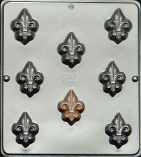 Fleur de Lis Chocolate Candy Mold Candy Making  188 NEW