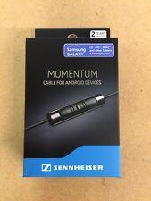 Sennheiser RCG M2 Cable 1.4 m for Momentum On-Ear Headphones Jack plug: 3.5mm