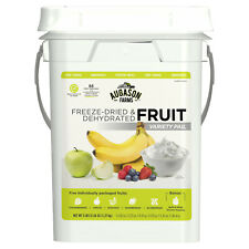 AUGASON FARMS Freeze Dried Fruit Emergency Food Storage Survival Prep 4gal Pail