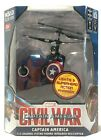 MARVEL CAPTAIN AMERICA CIVIL WAR 3.5 CHANNEL FLYING FIGURE INFRARED HELICOPTER *