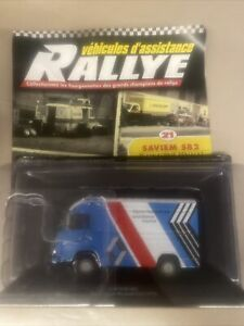 Véhicules d'assistance Rallye n°21 : Saviem SB2 Team Alpine Renault Altaya Neuf