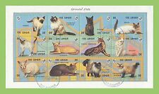Cats Used African Stamps