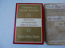 Taming Tiger Within Book Thich Nhat Hanh Meditation Spirituality Buddhism Art