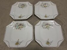 Vintage SB Sampson Bridgwood & Son Anchor plate, fan & mirror pattern, set of 4