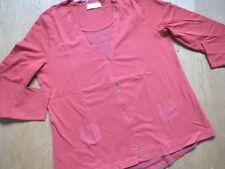 SHEEGO Super Shirt 2 in 1, rostbraun/ taupe, Gr. 44/ 46, Langarm, NEU!