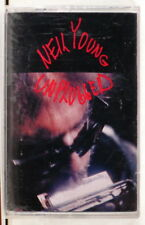 NEIL YOUNG - Unplugged > 1993  US 1st issue cassette  SEALED