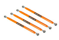 American Star 4130 Chromoly Radius Bars For Polaris RZR XP 1000 14-16 ORANGE
