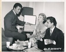 SAL MINEO JAMES DARREN SUSAN OLIVER Candid THE GENE KRUPA STORY KEY BOOK Photo