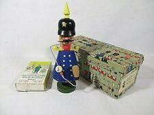 Vintage Germany Wooden Policemen Smoker Incense Burner Rauchermann